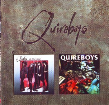 Quireboys - A Bit Of What You Fancy / Bitter Sweet And Twisted 1990/1993 (2CD Set EMI 1997)