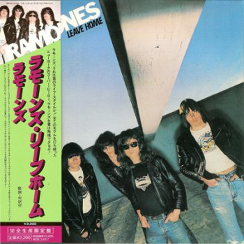 Ramones- Leave Home  Japan Mini Lp (1977-2007)
