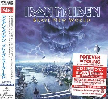 Iron Maiden - Brave New World (Japan Edition) (2014)