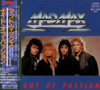 Mad Max - Night Of Passion (Japan Edition) (1987)