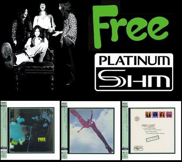Free: 3 Albums - Mini LP PT-SHM Universal Music Japan 2014