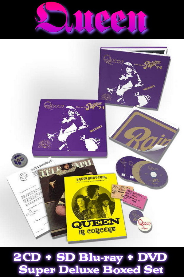 Queen: Live At The Rainbow '74 - Super Deluxe Boxed Set Hollywood Records 2014