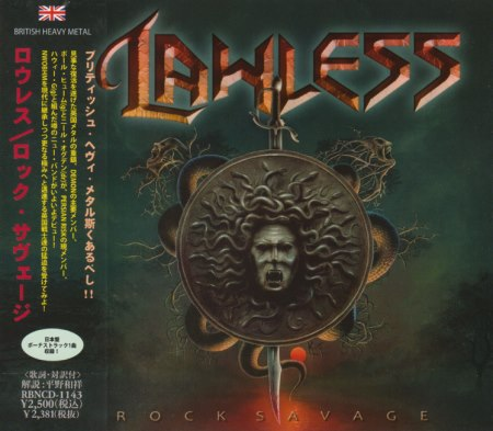 Lawless - Rock Savage [Japanese Edition] (2013)