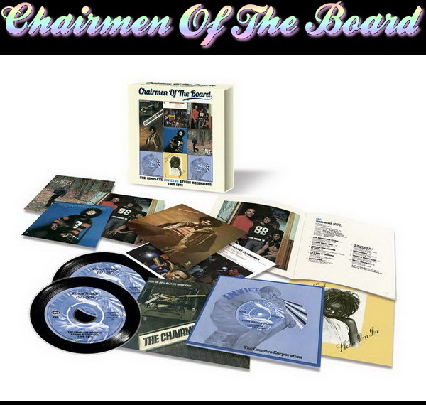 Chairmen Of The Board - The Complete Invictus Studio Recordings: 1969-1978 / 9CD Box Set Edsel Records 2014