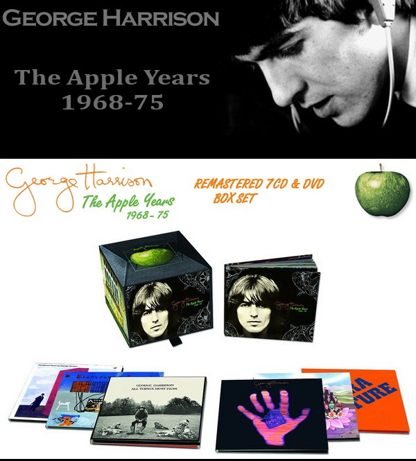 George Harrison: The Apple Years 1968-75 - 7CD + DVD Box Set G.H. Estate Limited 2014