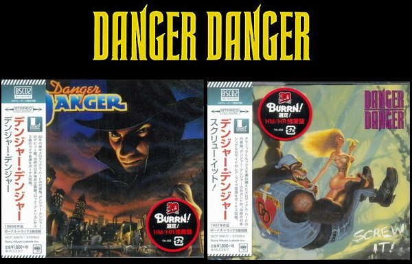 Danger Danger: 2 Albums - Blu-spec CD2 Sony Music Japan 2014