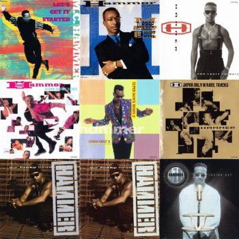 MC Hammer - 9 Albums Japanese & US Release (1990, 1990, 1991, 1991, 1992, 1992, 1994, 1994, 1995 Capitol Records, Giant Records, BMG Victor Inc.)
