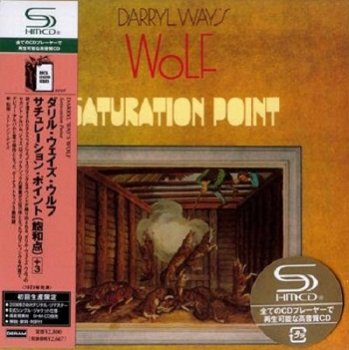Darryl Way's Wolf - Saturation Point (Japan Edition) (2008)