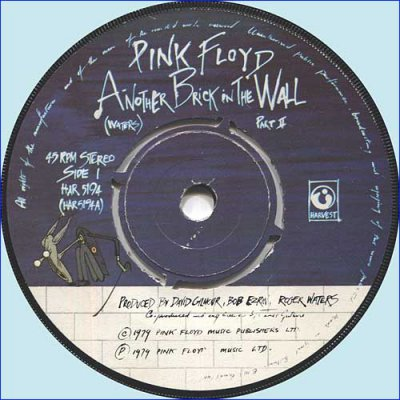 Pink Floyd - Another Brick In The Wall Part 2 (1979) (Vinyl Single 45rpm)