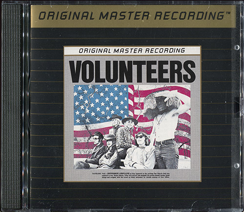 JEFFERSON AIRPLANE - Volunteers (1969) (US 1990 MFSL • UDCD 540)