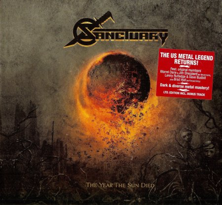 Sanctuary - The Year The Sun Died (2014)