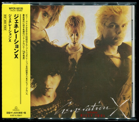 Generation X (Billy Idol): Generation X (1978) (2006, Warner Music Japan, WPCR-50135)