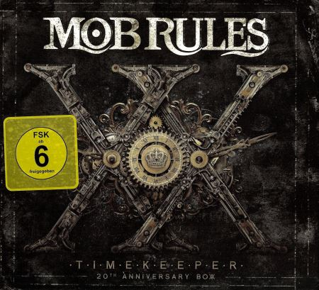 Mob Rules - Timekeeper: 20th Anniversary Box [3CD] (2014)
