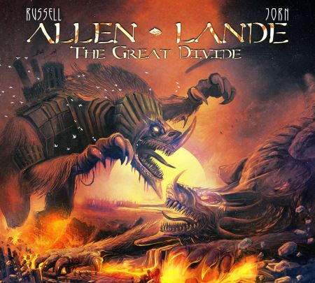 Allen - Lande - The Great Divide (2014)