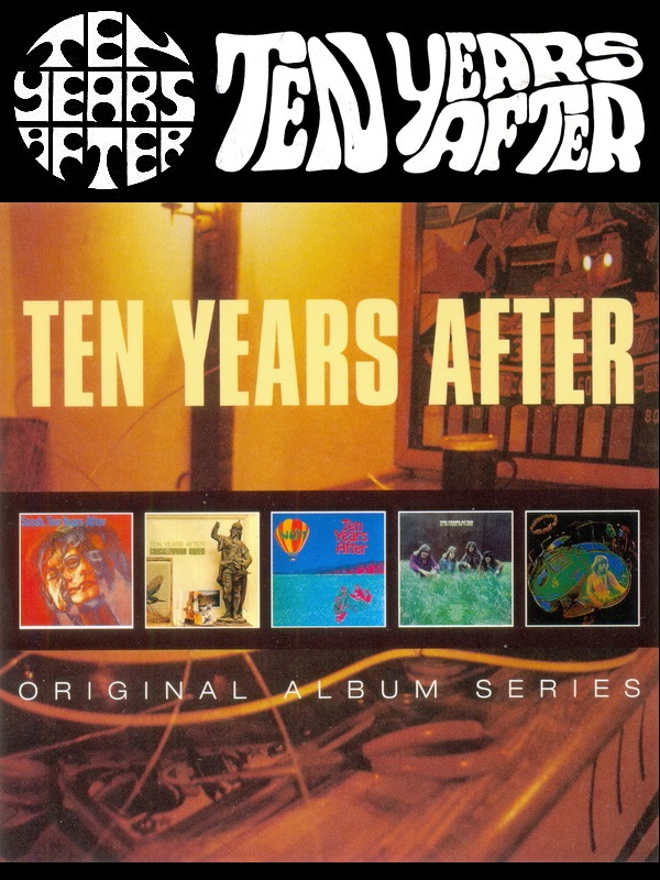 Ten Years After: Original Album Series - 5CD Box Set Chrysalis Records 2014