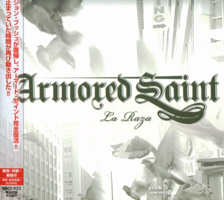 Armored Saint - La Raza [Japanese Edition] (2010)