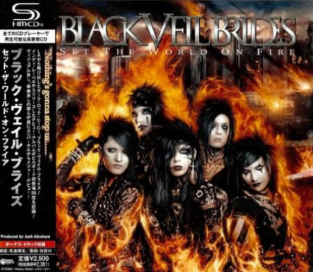 Black Veil Brides - Set The World On Fire [Japanese Edition] (2011)