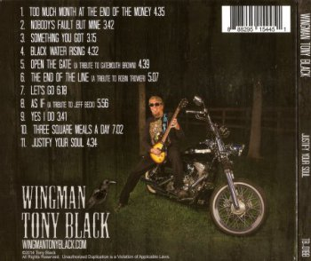 "Tony ""WingMan"" Black - Justify Your Soul (2014)"