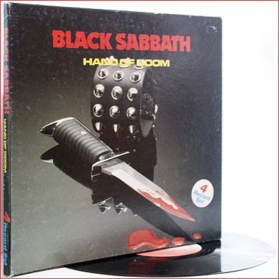 Black Sabbath - Hand Of Doom (1984) (Box Set 4 LP, Vinyl)