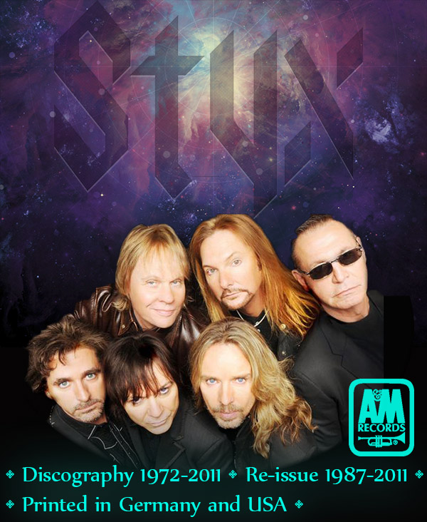 STYX - Discography (21 x CD • A&M Records Ltd. • 1972-2011)