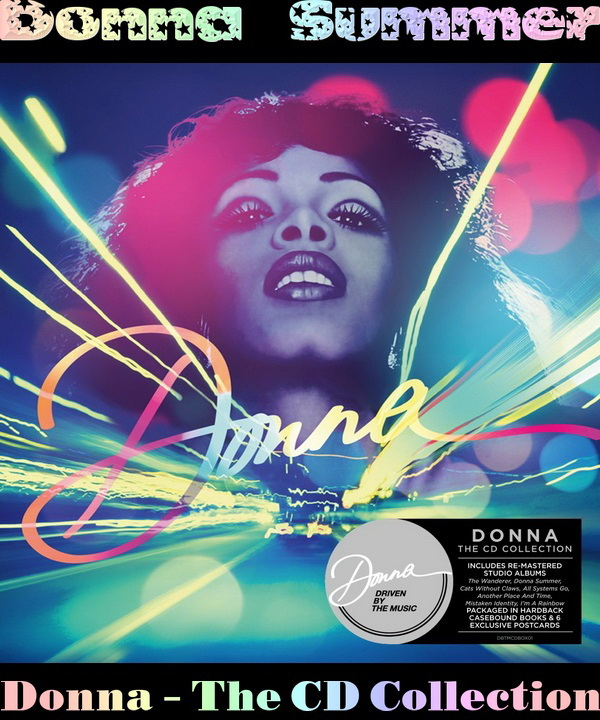 Donna Summer: Donna - The CD Collection / 10CD Box Set Driven By The Music 2014