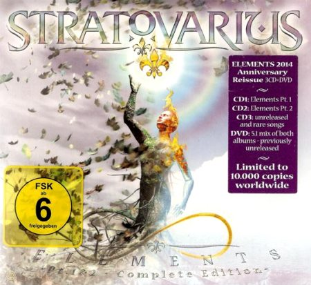 Stratovarius - Elements (Рt.1 & 2) [3СD] (2014)