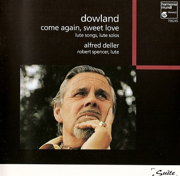 John Dowland - Come Again, Sweet Love (Alfred Deller) (1996)
