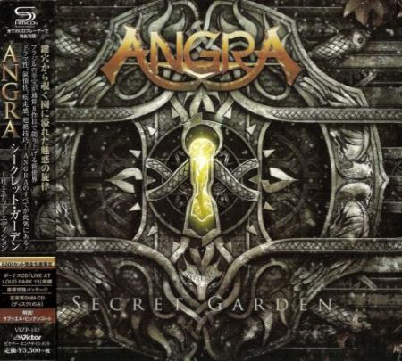 Angra - Secret Garden (2CD) [Japanese Edition] (2014)