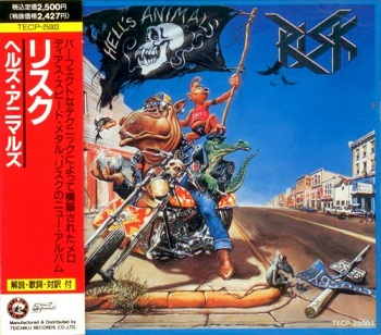 Risk - Hell's Animals (Japan Edition) (1989)
