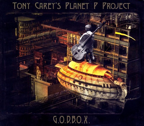 Tony Carey's Planet P Project - G.O.D.B.O.X. Go Out Dancing [4 CD Boxset] (2014)