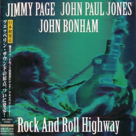 Jimmy Page, John Paul Jones, John Bonham - Rock and Roll Highway [Japanese Edition] (1970) [2007]