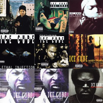 Ice Cube - 9 Albums EU & US Release (2003, 1991, 1992, 1993, 1997, 1998, 2000, 2008 Priority Records, Lench Mob Records)