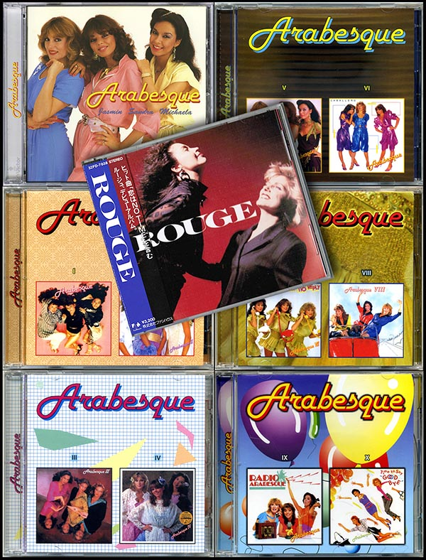 ARABESQUE - Discography ''CD Maximum'' + bonus (7 x CD • Unofficial Release 2001)