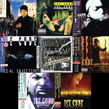 Ice Cube - 8 Albums Japanese Release (1990, 1991, 1992, 1993, 1994, 1998, 2000, 2006 Priority Records, Lench Mob Records)