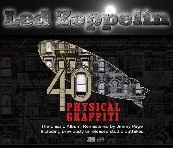 Led Zeppelin: 1975 Physical Graffiti - Super Deluxe Edition Box Set Atlantic Records 2015