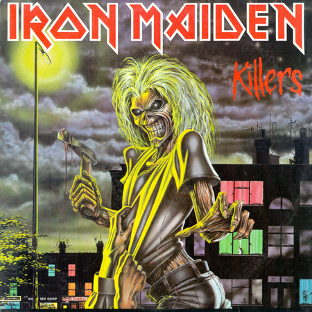 Iron Maiden - Killers [Capitol Records LP (VinylRip 24/192)] (1981)