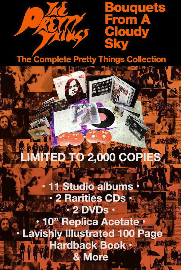 The Pretty Things: Bouquets From A Cloudy Sky - 13CD + 2DVD Box Set Snapper Music 2015