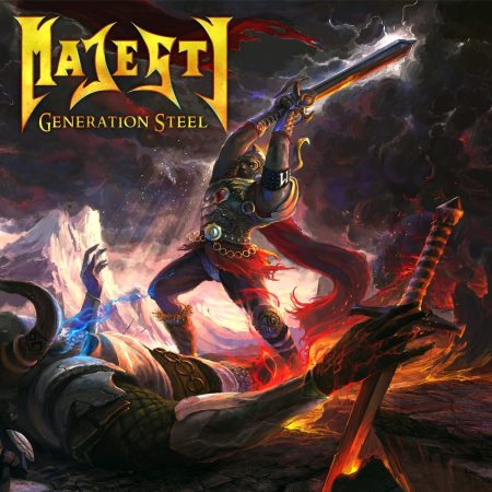 Majesty - Generation Steel (Limited Edition) [2CD] (2015)