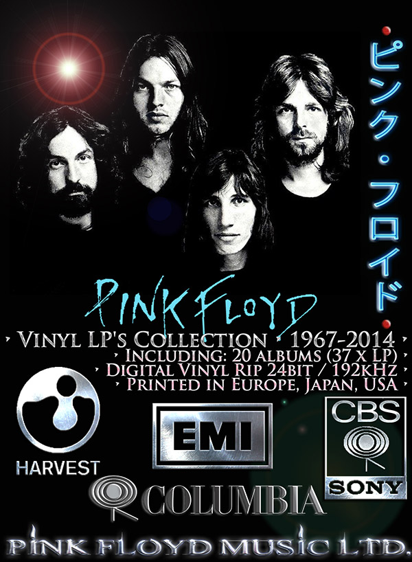 PINK FLOYD - Vinyl Collection (37 x LP • 20 albums • 1967-2014)
