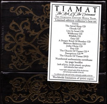 Tiamat - The Ark Of The Covenant (2008) [12CD + 1DVD Box-Set]