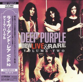 Deep Purple - New, Live & Rare Volume Two (2003) [Japanese Edition, 2008]