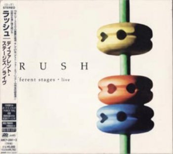 Rush - Different Stages - Live (1998) [3CD, Japanese Edition]