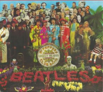 "The Beatles - ""Sgt. Pepper's Lonely Hearts Club Band"" - 1967 (CDP 7 46442 2)"