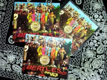 """The Beatles - """"Sgt. Pepper's Lonely Hearts Club Band"""" - 1967 (CDP 7 46442 2)"""