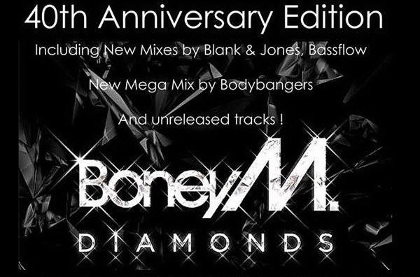 Boney M: 2015 Diamonds - 2 Box Sets 40th Anniversary 2015