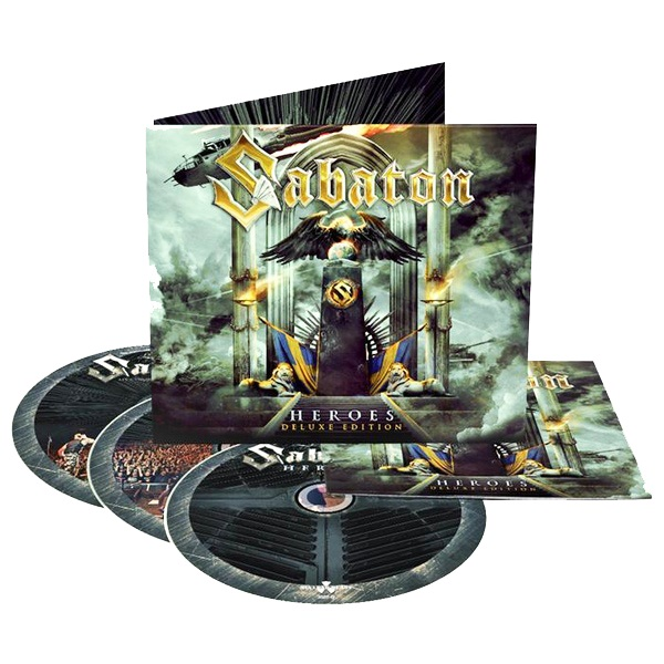 Sabaton - Heroes [DELUXE EDITION US-IMPORT, 3 CD] (2015)