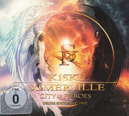 Kiske / Somerville - City Of Heroes [Deluxe Edition] + [DVD5] (2015)