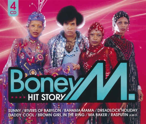 Boney M: Hit Story • 4CD Set Sony Music 2010