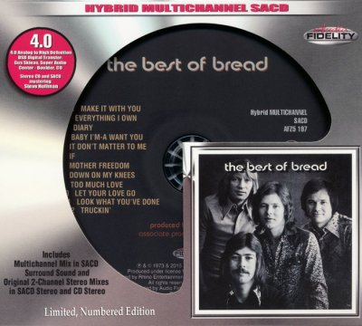 Bread - The Best Of Bread (1973) [2015 Audio Fidelity SACD]
