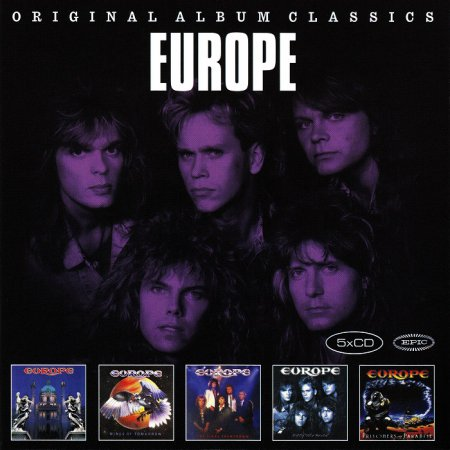 Europe - Original Album Classics [5CD] (2015)